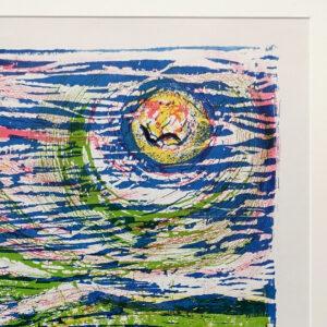 1970s A. Laurie Sailboats Silkscreen Print-04