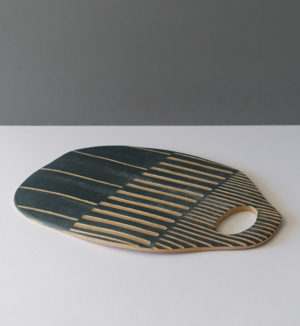 varela-gray-striped-serving-tray