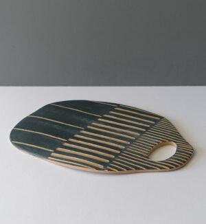 varela-gray-striped-serving-tray