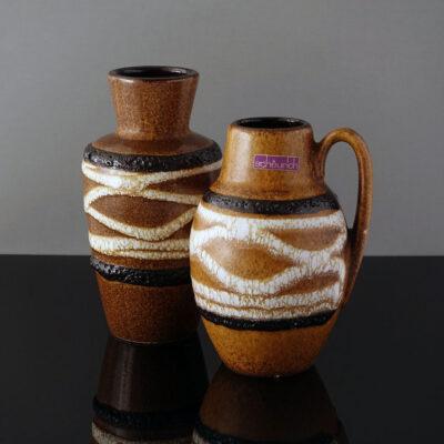 scheurich-jug-handle-striped-fat-lava-vase-2