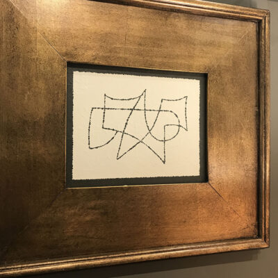 aron-abstract-large-gold-frame