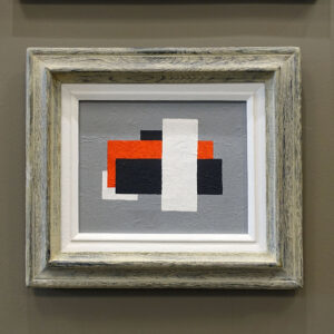Aron Abstract Suprematist Painting Inferno-01