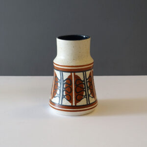 lapid-israel-1960s-abstract-stout stoneware-vase