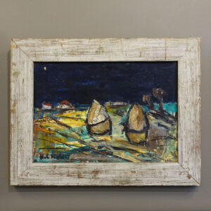 hubert-de-Vries-haystacks-original-painting