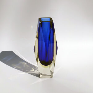 cobalt-blue-faceted-sommerso-block-vase