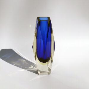 cobalt-blue-faceted-sommerso-block-vase