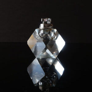 faceted-clear-crystal-block-table-lighter
