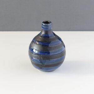 otagiri-blue-gray-swirl-bud-vase