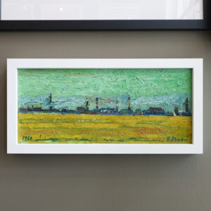 1964-Landscape-Oil-Painting-Signed-E-Studer
