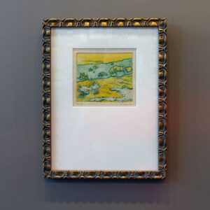 yellow-tidal-pool-etching-mid-century-vintage-frame