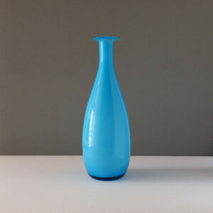 bright-blue-krosno-poland-cased-glass-vase