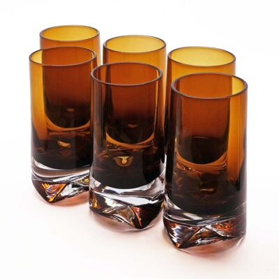 Denby-Milnor Set of Six Highball Glasses