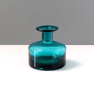 teal-blue-holmegaard-style-vase