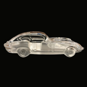 crystal-paperweight-jaguar-xk-e-replica