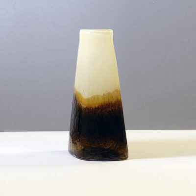 earth-tone-art-glass-modernist-vase