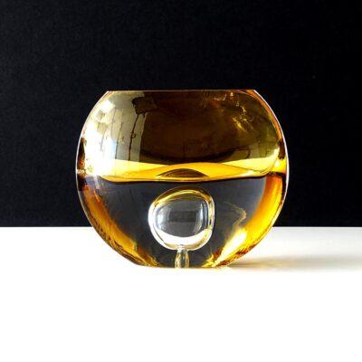 krosno-poland-controlled-bubble-art-glass-vase
