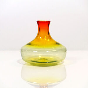 ombre-red-yellow-clear-low-wide-vase