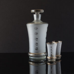 art-deco-czech-whisky-decanter-set