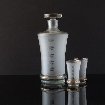 art-deco-czech-whisky-decanter-set
