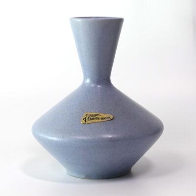 haeger-pale-blue-geometric-vase