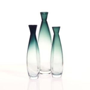 20-337 Tona Bengt Orup Johansfors1957 Trio Vases