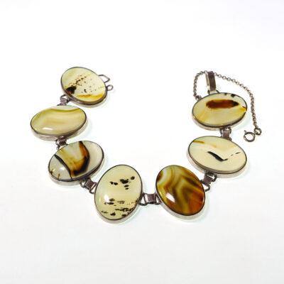 vintage-sterling-dendritic-agate-cabochon-bracelet