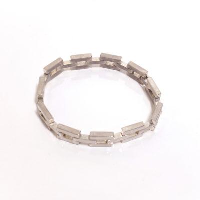 vintage-mexican-sterling-modernist-gate-link-bracelet