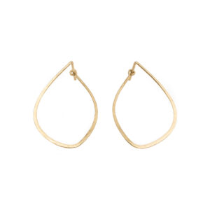 20-378KE-Kate_Eickelberg_14k_Yellow_Gold_Mussel_Tension_Hoop_Earrings