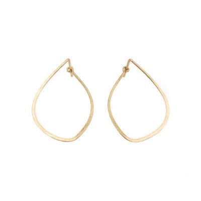 20-378KE-Kate_Eickelberg_14k_Yellow_Gold_Mussel_Tension_Hoop_Earrings