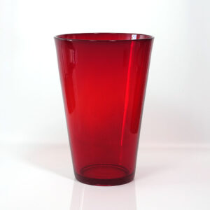 large-vintage-red-blown-glass-vase