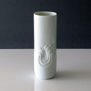 thomas-germany-white-porcelain-op-art-vase