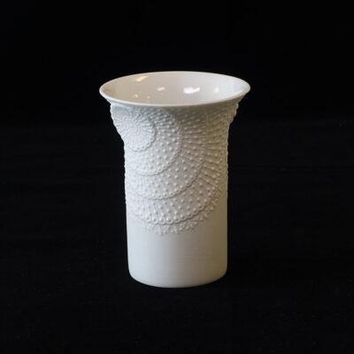 ak-kaiser-trumpet-shape-bisque-porcelain-vase