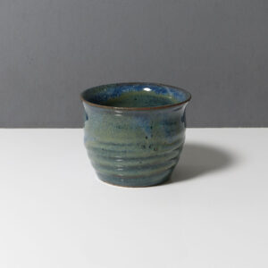 wheel-thrown-blue-glaze-vessel
