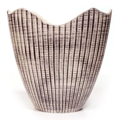 20-465DH Royal Haeger Scallop Centerpiece Vase