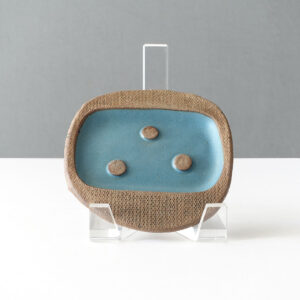 joseph-mitrani-studio-pottery-soap-dish-blue