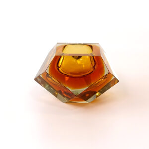 murano-faceted-bi-color-sommerso-dish-amber