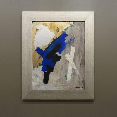1967-abstract-expressionist-oil-painting