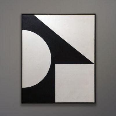 Mid-Century Abstract Hard Edge Painting