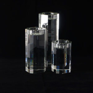 set of-solid-crystal-votive-holders