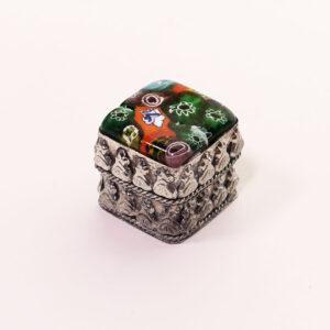 miniature-millefiore-sterling-box