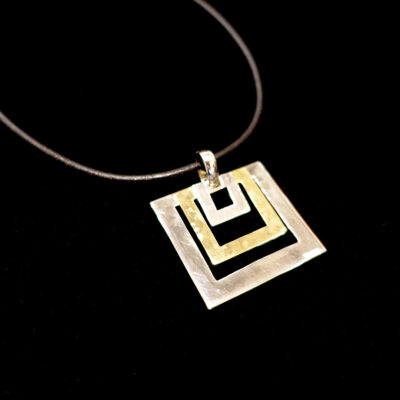 robert-lee-morris-three-squares-sterling-brass-necklace-2