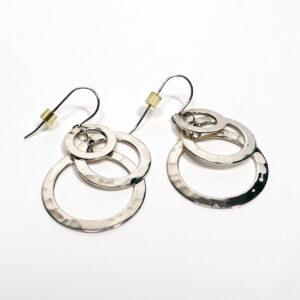 robert-lee-morris-triple-ring-sterling-earrings-2