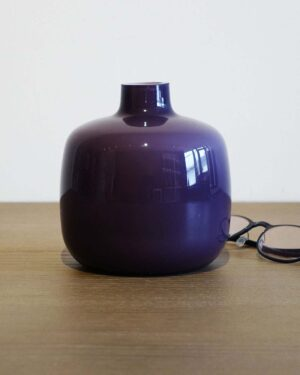 2018-037-Friedrich-Purple-Cased-Glass-Vase