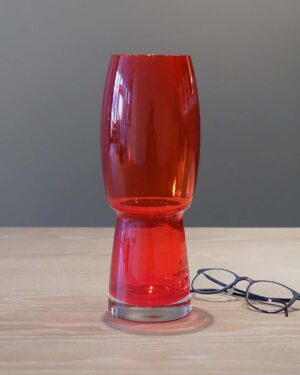 2018-046-Riihimaki-deep-red-glass-vase