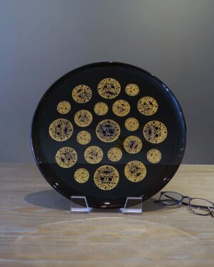 2018-056-Briard-style-Black-Glass-Serving-Tray-Suns
