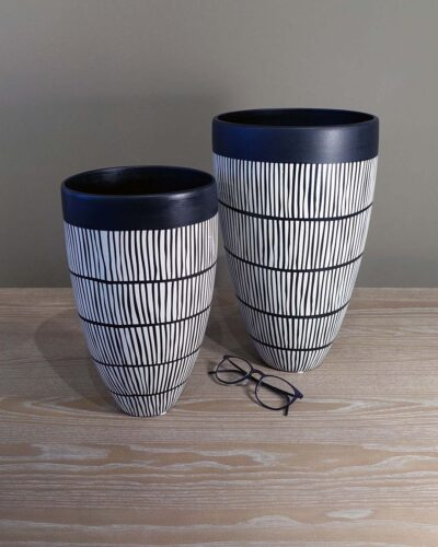 large-striped-tapered-vases