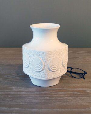 2018-080-Op-Art-Schumann-Arzberg-Vase-in-Bisque-Porcelain