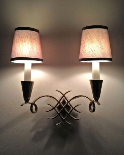2018-083-Jules-Leleu-Style-French-Sconces-in-Brass