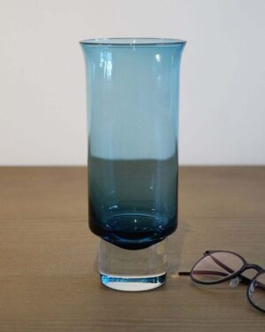 2018-087-Aseda-Glasbruk-Pale-Blue-Flared-Vase
