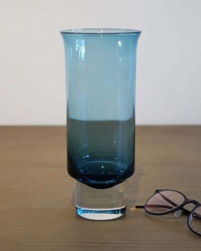 2018-087-Aseda-Glasbruk-Pale-Blue-Flared-Vase